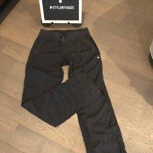 Lululemon Black Dance Studio Pants sz 8T EUC